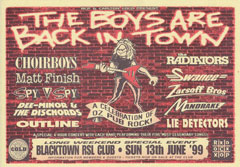 The Boys Are Back In Town Show – June 1999 thumbnail